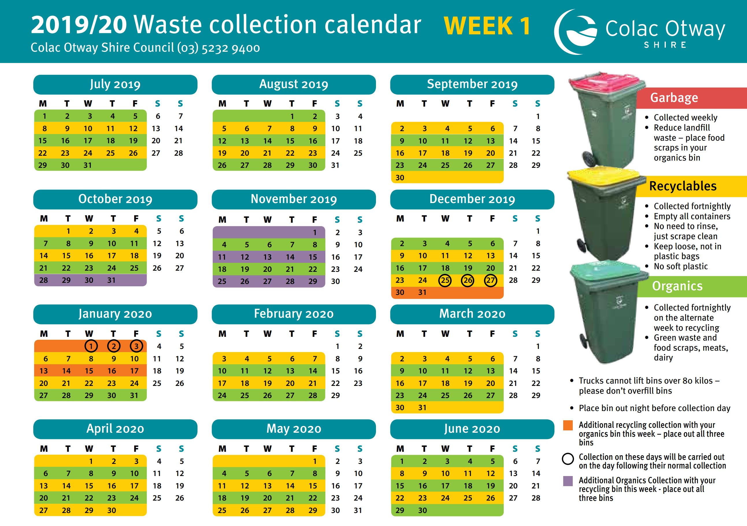 2019 20 waste collection wk1