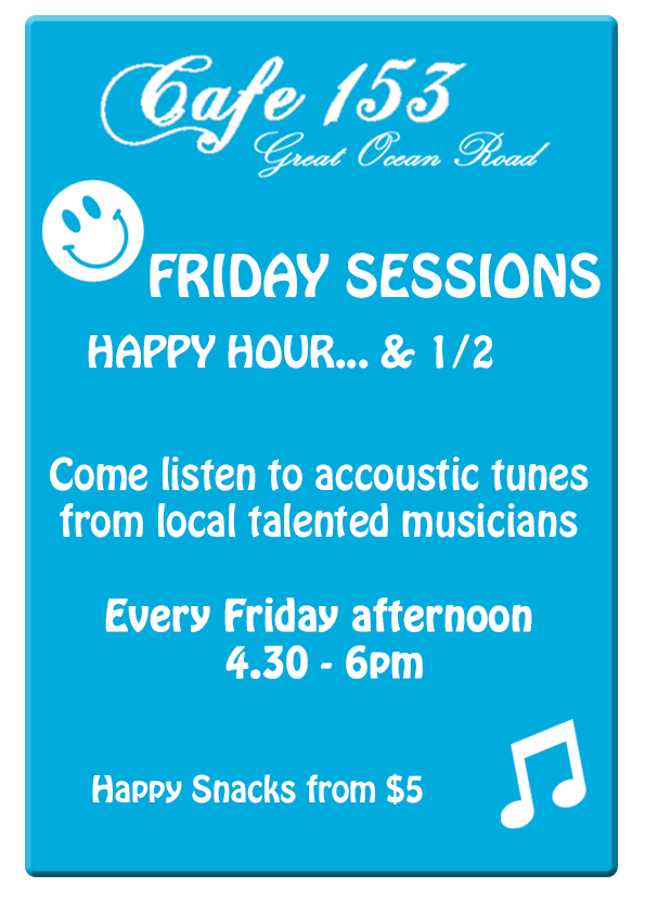 1812 Cafe153 Friday Sessions