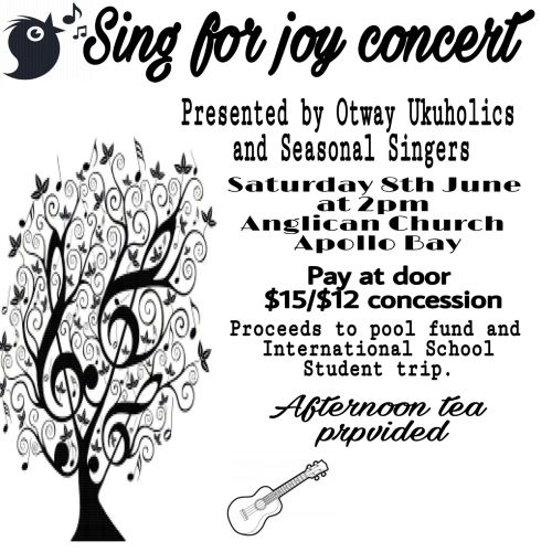 1906 sing for joy