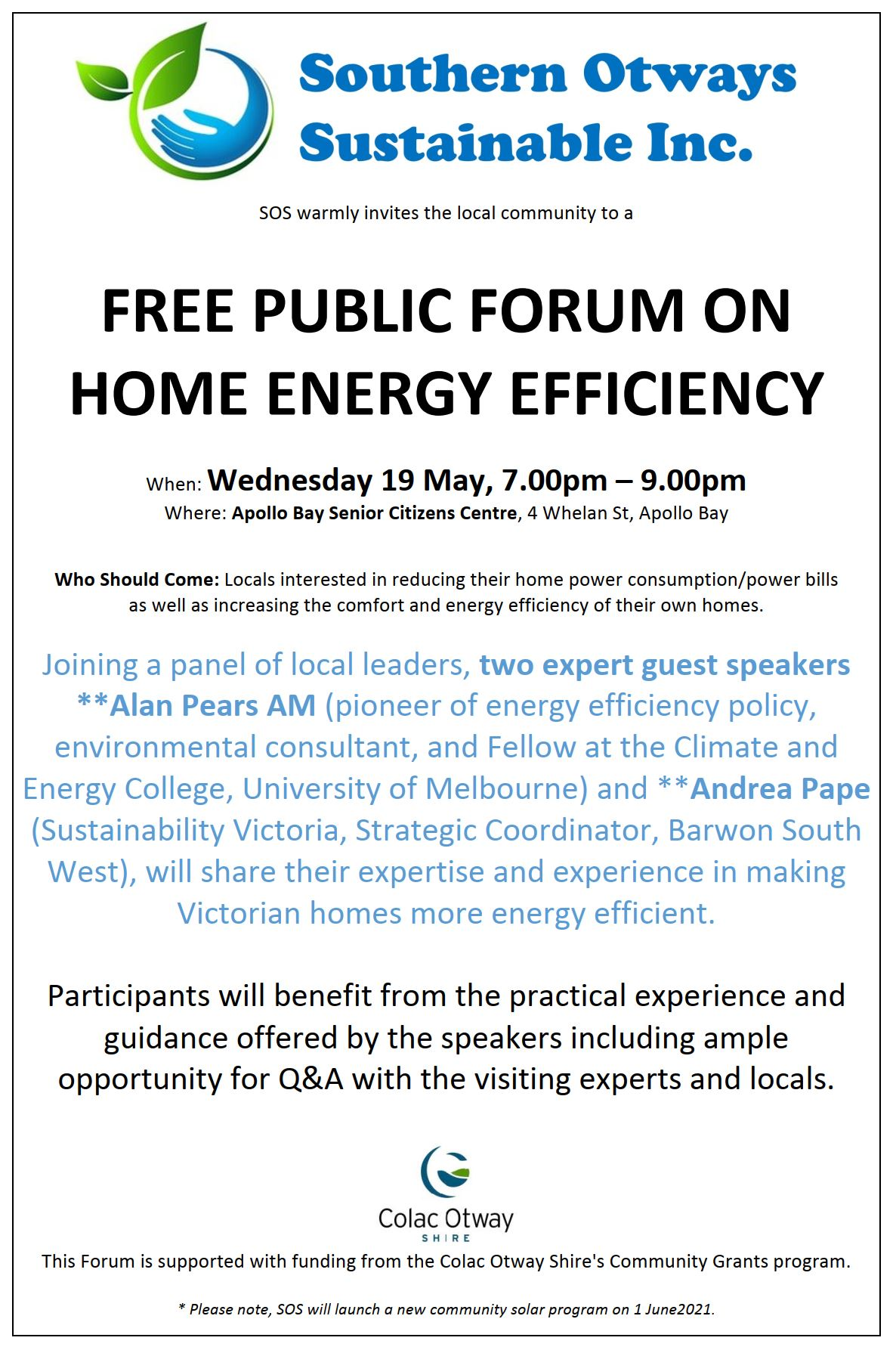 2105 Home Energy Forum